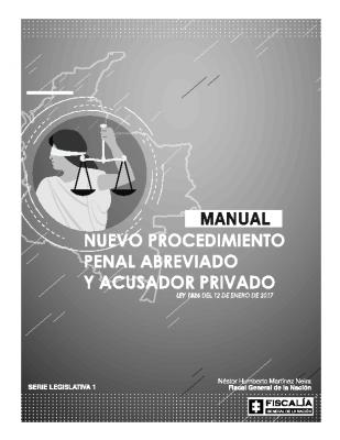 Manual Procedimiento Penal Abreviado